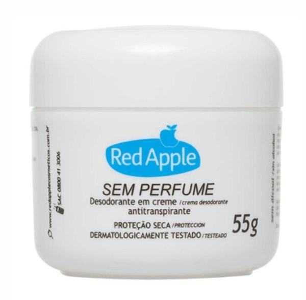 DESODORANTE EM CREME RED APPLE SEM PERFUME 55G