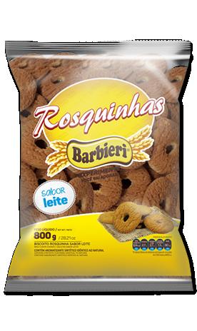 BISCOITO ROSQUINHA DE LEITE  BARBIERI 700G