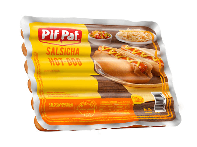 SALSICHA HOT DOG PIF PAF 500G