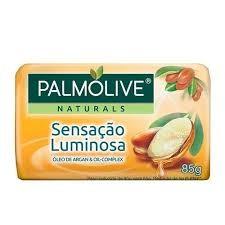 SABONETE PALMOLIVE SENSAÇÃO LUMINOSA ÓLEO DE ARGAN 85G