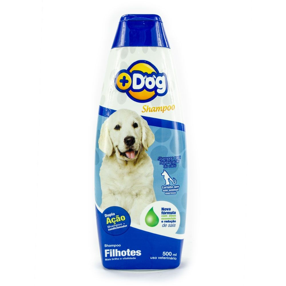 SHAMPOO + CONDICIONADOR  FILHOTES MAIS DOG 500ML