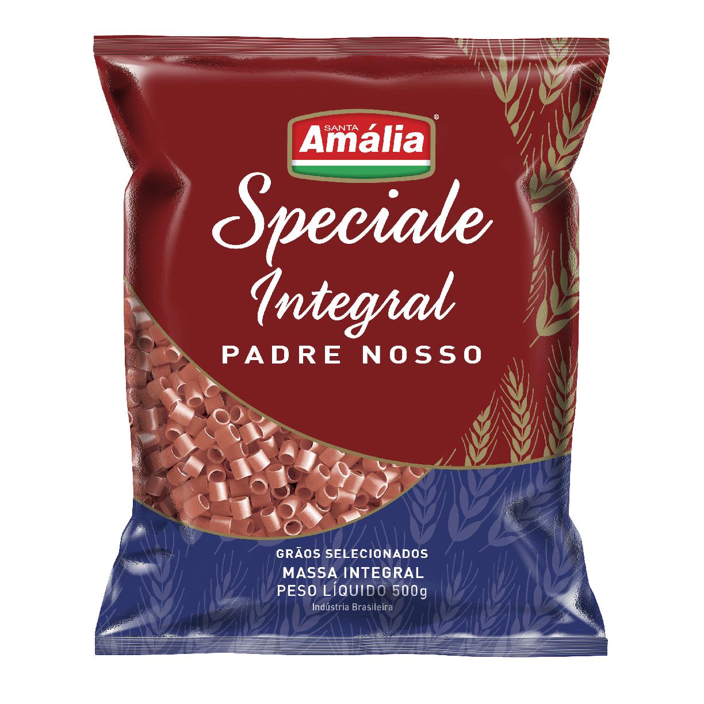 MACARRÃO SPECIALE INTEGRAL SANTA AMALIA PADRE NOSSO 500G
