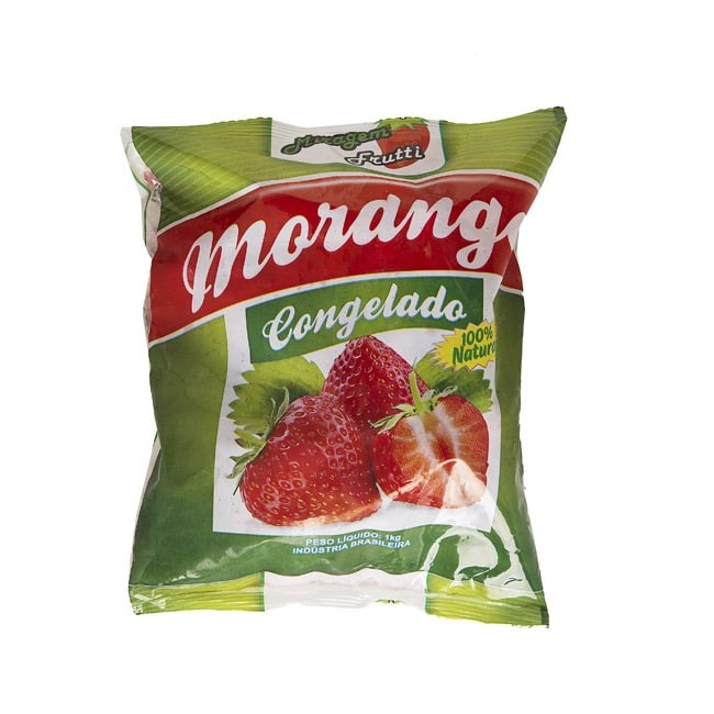 MORANGO CONGELADO ORIGINAL FOOD 1,02KG