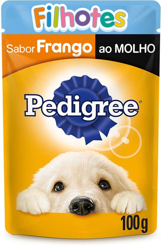 SACHÊ PEDIGREE FILHOTES FRANGO AO MOLHO 100G