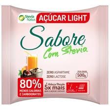 AÇÚCAR LIGHT STEVIA NATUS 500g