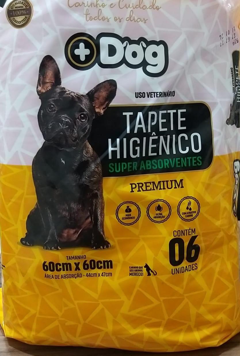 TAPETE HIGIÊNICO  SUPER ABSORVENTE MAIS DOG C/6
