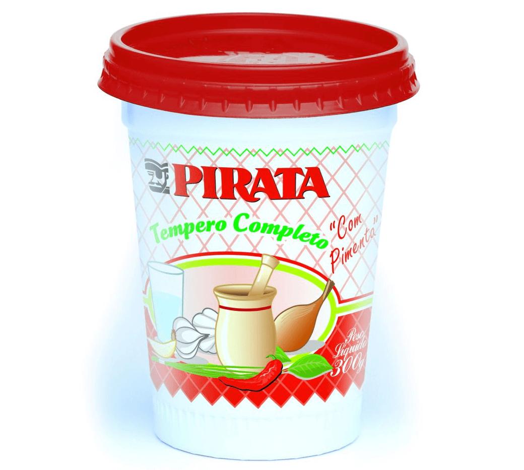 TEMPERO PIRATA  COMPLETO COM PIMENTA  300G