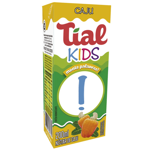 SUCO TIAL KIDS CAJU 200ML
