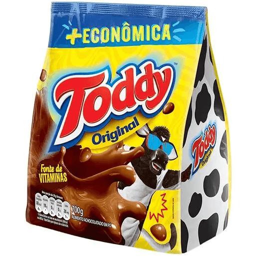 ACHOCOLATADO EM PÓ TODDY SACHÊ 700G