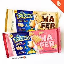 BISCOITO WAFER TORTUGUITA CHOCOLATE 85G