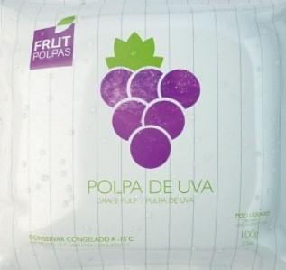 POLPA FRUT POLPAS DE UVA 100G