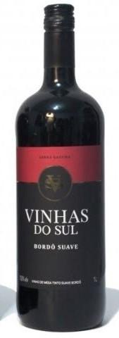 VINHO VINHAS DO SUL BORDO SUAVE 1L