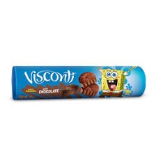 BISCOITO VISCONTI RECHEADO CHOCOLATE 125G