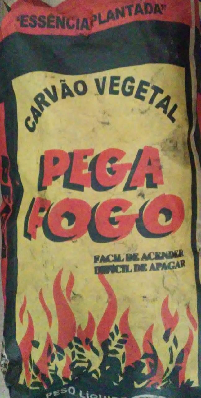 CARVÃO VEGETAL PEGA FOGO 3KG