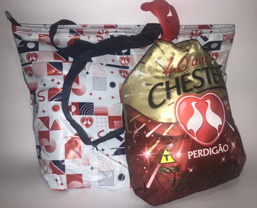 CHESTER PERDIGÃO + BOLSA TERMICA UNIDADE ( PESO APROX 3,6KG)
