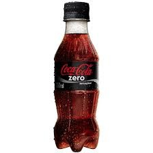 REFRIGERANTE COCA-COLA ZERO PET 200ML
