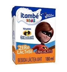 BEBIDA LÁCTEA ITAMBEZINHO CHOCOLATE ZERO LACTOSE 180ML